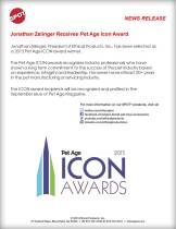 Icon Award Announcement